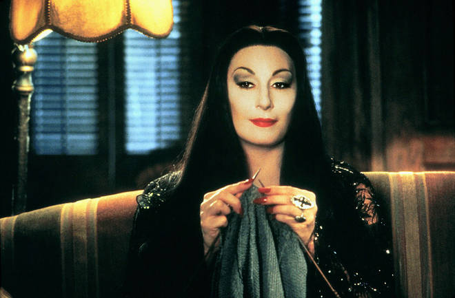 Grab yourself a black dress, some red lipstick and a long, black wig and you're ready to be Morticia Addams