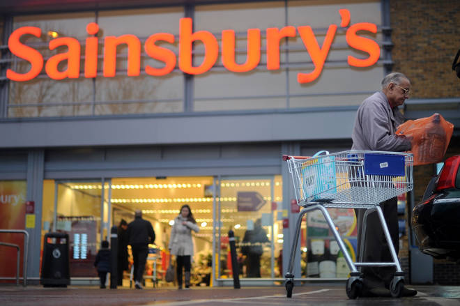 Sainsbury's have seen food bank donations treble since introducing the change