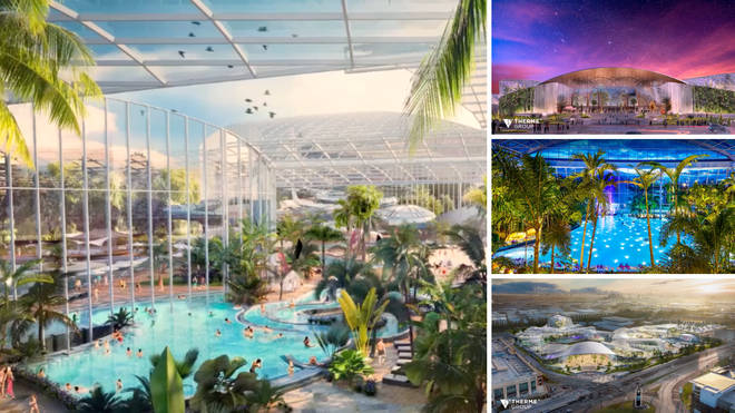 The waterpark will open in 2023 and is estimated to be a £250million project