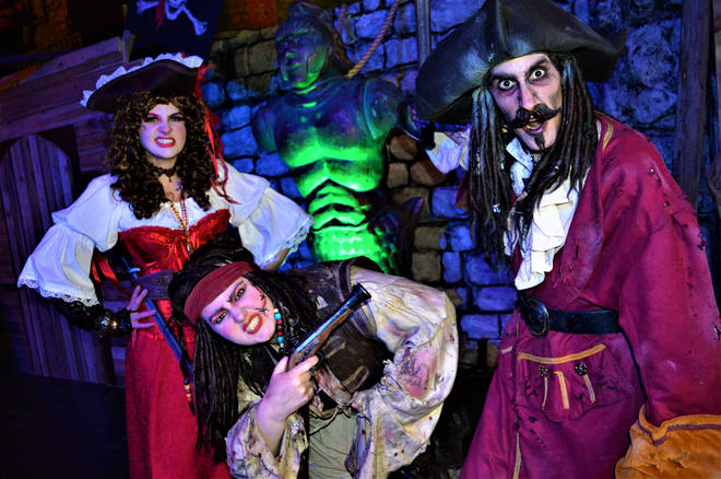 There are pirates at Fear Island this year