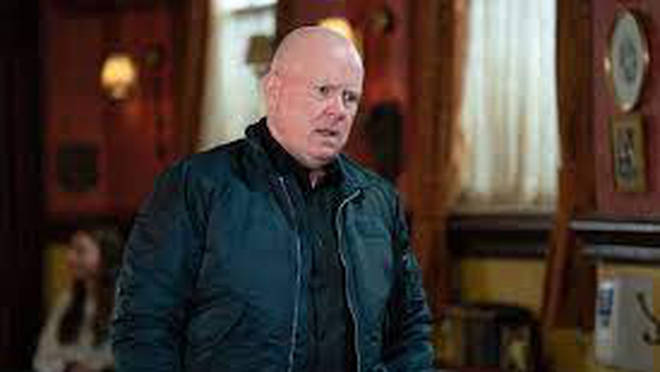 Phil Mitchell delivered the news Vincent Hubbard had been killed