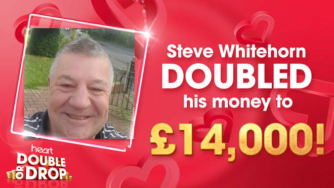 Steve Whitehorn doubles his money on Heart's Double or Drop
