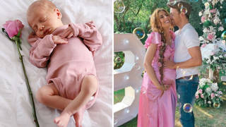 What has Stacey Solomon called her new baby daughter?