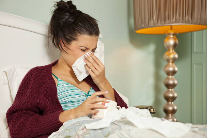 Covid lockdown measures have left us more vulnerable to illnesses (stock image)