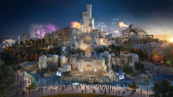 There will be five sections in the London Resort