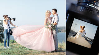 The wedding photographer was denied a 20 minute break to feed herself during the long day