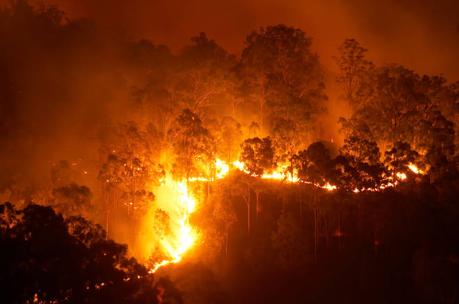 More than 8,000 people have been evacuated from their homes in Queensland (stock image)