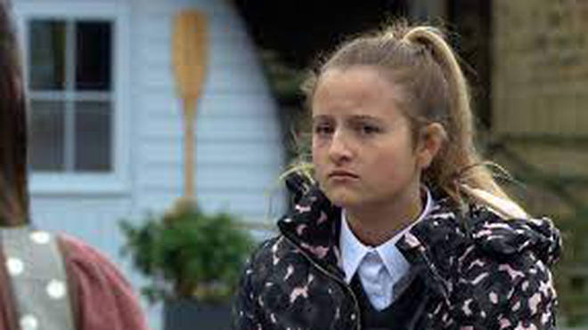 Daisy Campbell joined Emmerdale when she was seven