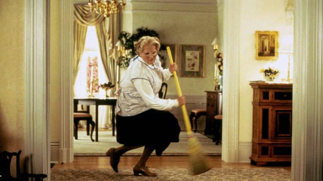 Robin Williams played Mrs Doubtfire