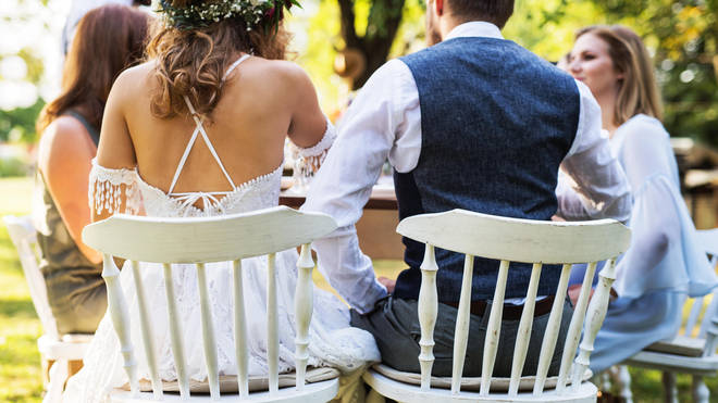 A woman is refusing to go to her sister's wedding