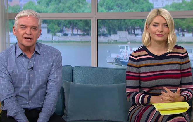 Phillip Schofield told Holly Willoughby that he knew that Joe and Stacey would choose a floral name