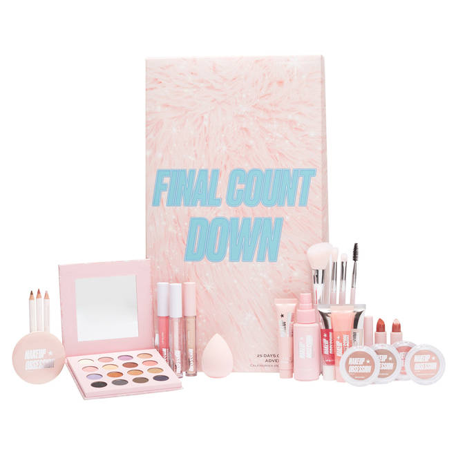 This calendar is packed with new and exclusive Makeup Obsession products