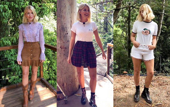 Holly Willoughby outfits I'm a celeb
