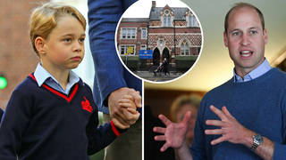 Prince George didn't understand why there was more litter on the streets after he helped his school with litter picking
