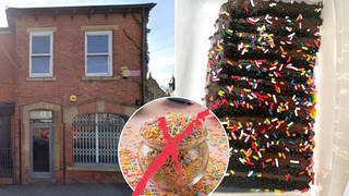 A bakery has been banned from using sprinkles in their cakes