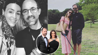 Suranne Jones and her husband Laurence Akers have been together for years