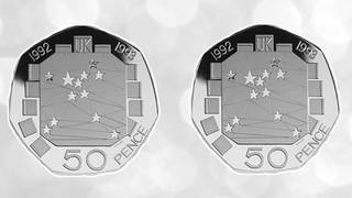 Some old 50p coins could be worth up to £60