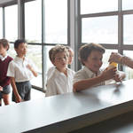 Children will be using facial recognition in the school canteen