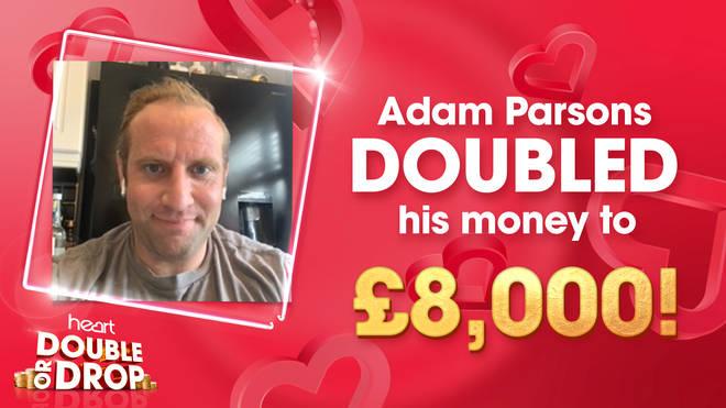 Adam Parsons doubles his money to £8,000!