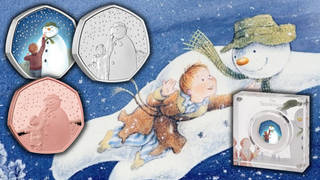 Royal Mint have released a new collection of 50p coins to commemorate The Snowman