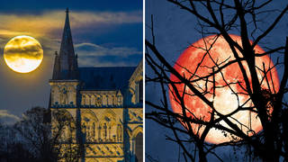 The Hunter's Moon will be most visible Wednesday afternoon