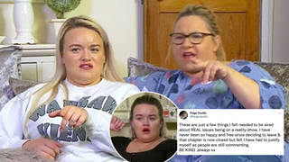 Paige from Gogglebox has hit out at her mum