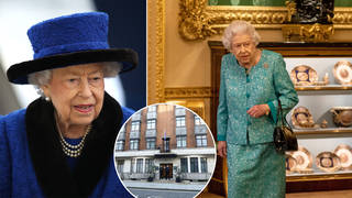 The Queen was taken to hospital