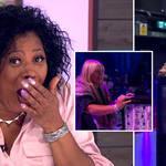 Linda Robson swore on Loose Women yesterday