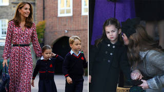 Kate Middleton was spotted at a Sainsbury's with her kids in 2019