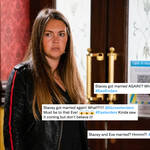 Stacey Slater is married again on EastEnders