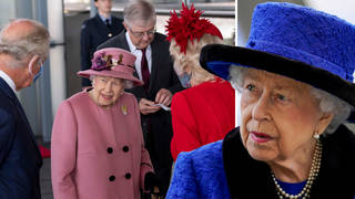 The Queen is said to have not used the signal as she was on great form for the engagement