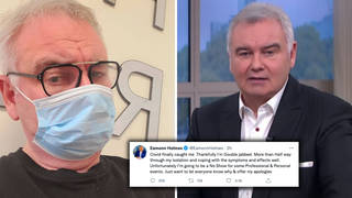 Eamonn Holmes said he was 'coping well' with the symptoms of Covid-19