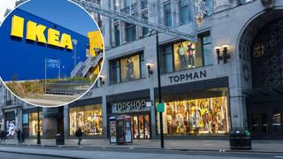 IKEA has taken over Topshop's flagship store