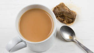 Brits like their tea strong, according to a new study