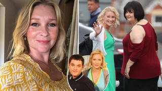 Joanna Page has said she won't be acting for a while
