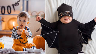 Spooky baby names are seeing a surge in popularity (stock images)
