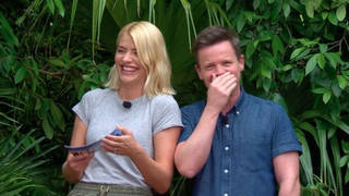 Holly and Dec on Im a Celeb