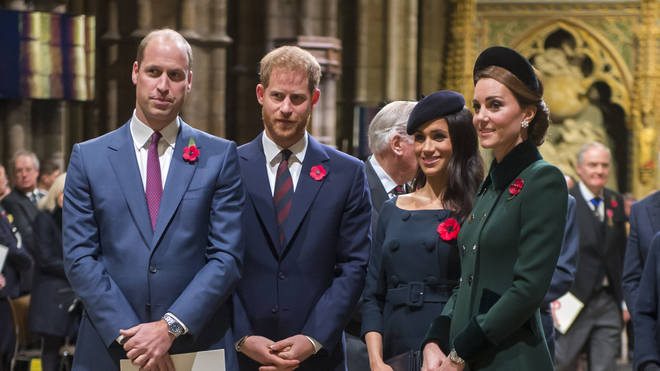 The two couples will reportedly spend Christmas apart amid 'royal rift' rumours