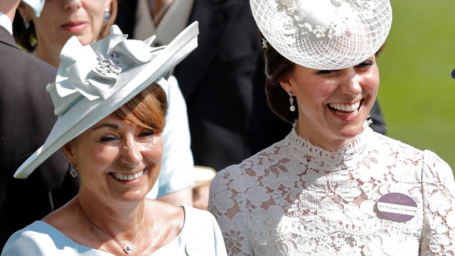 Kate looks set to spend Christmas with her mother in Berkshire this year