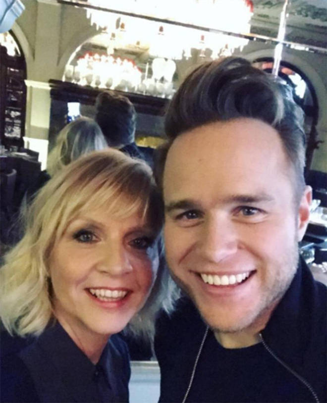 Olly and his mum Vickylynn