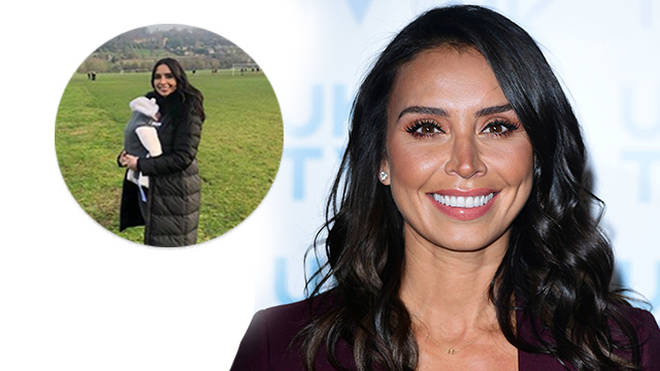Christine Lampard has shared a rare snap of her new daughter