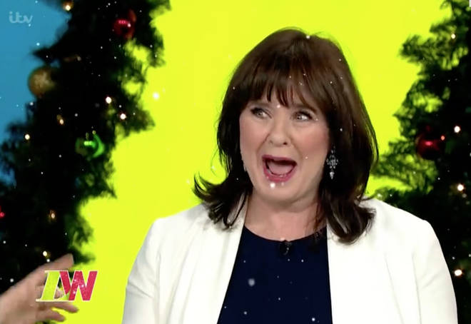 Coleen seemed thrilled to be back on Loose Women