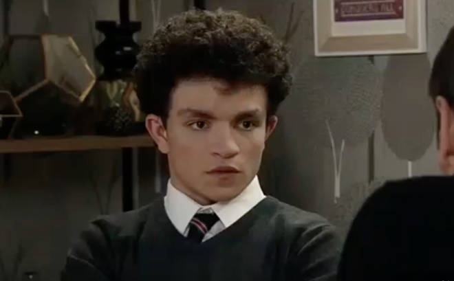 Corrie's Alex Bain has become a dad at the age of 17