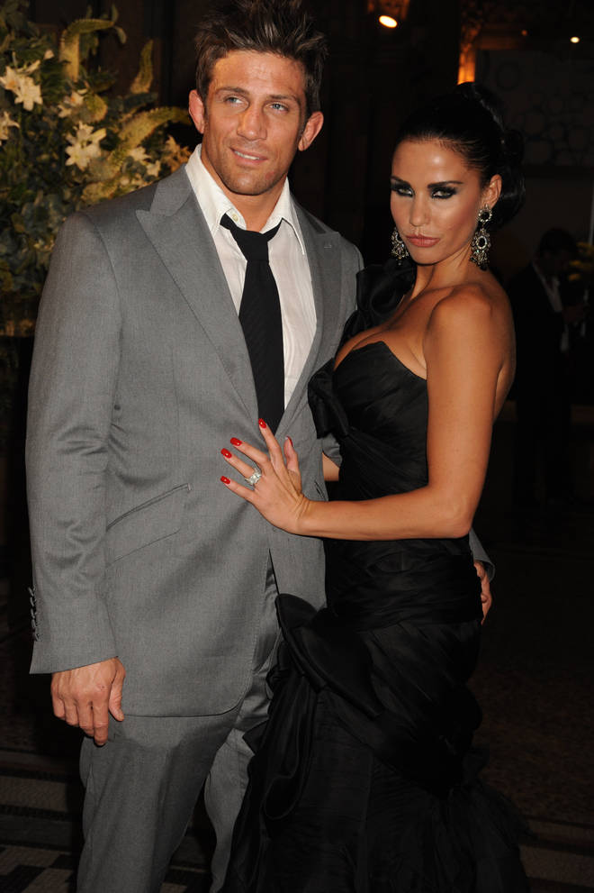 Katie and her second husband Alex Reid, pictured in 2006