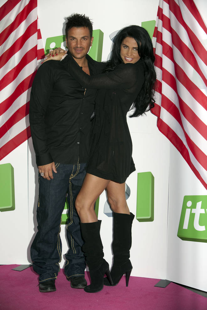 Katie Price And Peter Andre were married for four years and have two children