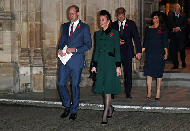 Kate and Meghan are reportedly in the middle of a rift