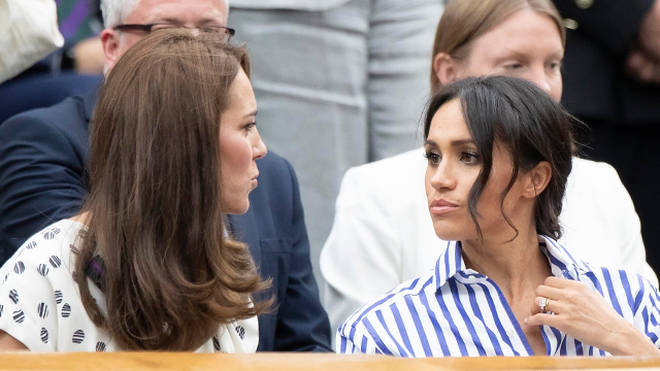 Kate and Meghan are reportedly struggling to get on