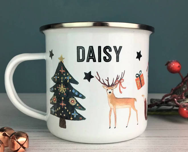 These personalised mugs from Not On The High Street