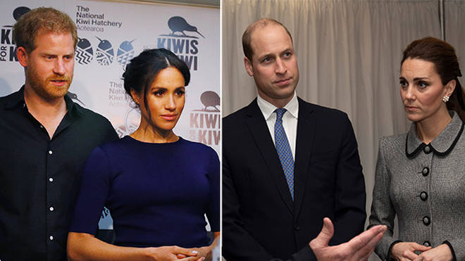 Kate and William are believed to be hosting Harry and Meghan this Christmas