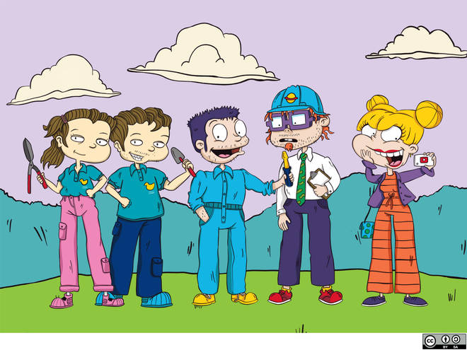 The Rugrats aren't babies anymore